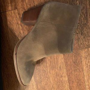 JCrew tan booties